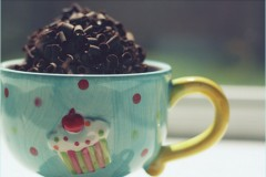 The Promised 5 Minute Healthy Chocolate Mug Cake