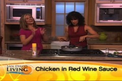 Video: San Diego Living - Aug 12, 2009Chicken In Red Wine Sauce